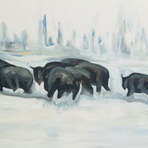 Nathalie Letulle, BISON BACK TO THE RANCH