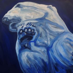 Nathalie Letulle, AQUATIC POLAR BEAR