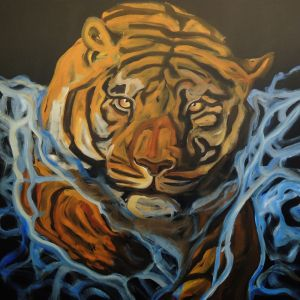 Nathalie Letulle, SWIMMING TIGER