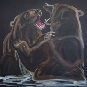 Nathalie Letulle, GRIZZLY AQUATIC BATTLE