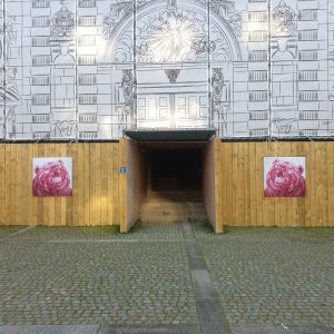 Nathalie Letulle, OURS ROUGE, CATHEDRALE LE HAVRE